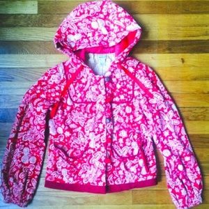 Anthropologie Quilted Floral Hooded Jacket 6/S